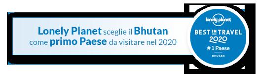 Logo Lonely Planet Best in Travel Bhutan 2020
